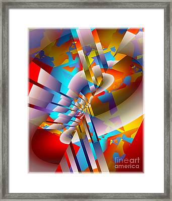 Party Crashers Framed Print