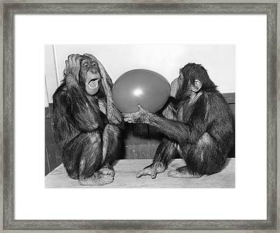 Party Games Framed Print