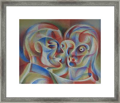 Party Paired  Framed Print by Glen Heberling