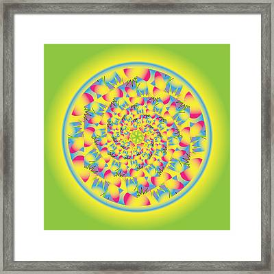 Party Time Framed Print by Linda Pope