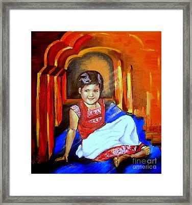 Parvati Framed Print by Tatjana Andre