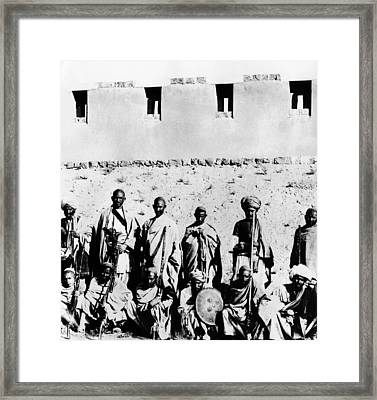 Pashtun Tribe In The 1930s, In What Framed Print by Everett