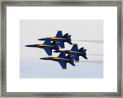 Pass Framed Print by Kevin Schrader