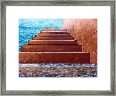 Passage To Atlantis Framed Print by David Rearwin