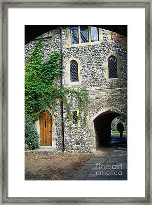 Passages In Time Framed Print by RL Rucker