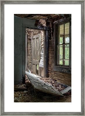 Passageways. Framed Print