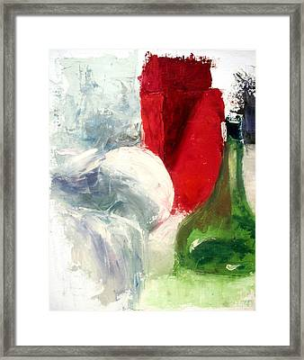 Passed Out Framed Print
