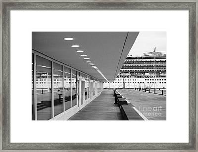 Passenger Terminal Framed Print by Gaspar Avila