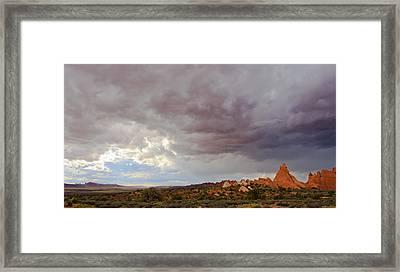 Passing Storm Framed Print by Adam Pender
