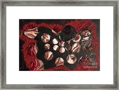 Passion Explosion I Framed Print by Tatjana Popovska