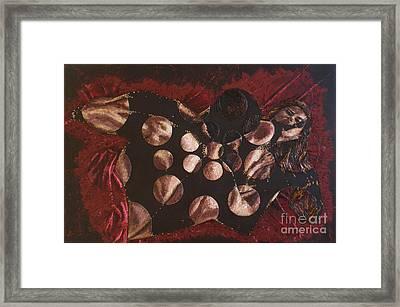Passion Explosion II Framed Print by Tatjana Popovska