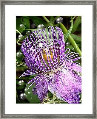 Passion Nr 2 Framed Print by Carola Ann-Margret Forsberg