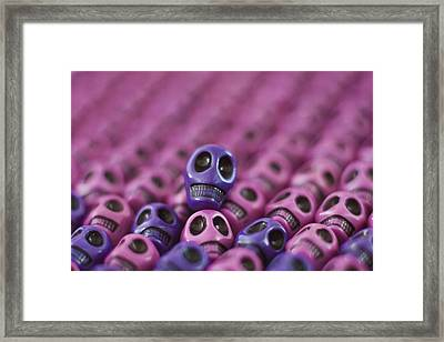 Passionate Smile Framed Print by Mike Herdering