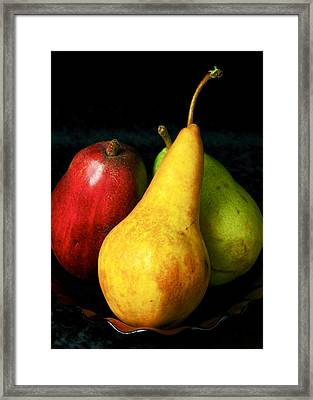 Passions I Framed Print by Elf Evans