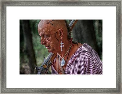 Past Battles Portrait Framed Print