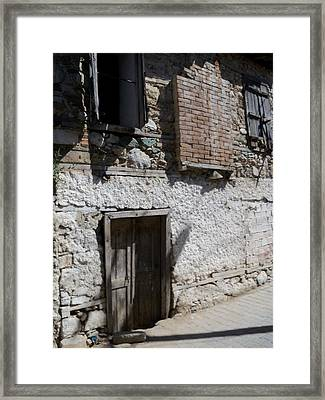 Past Forgotten Framed Print by Sandy Collier