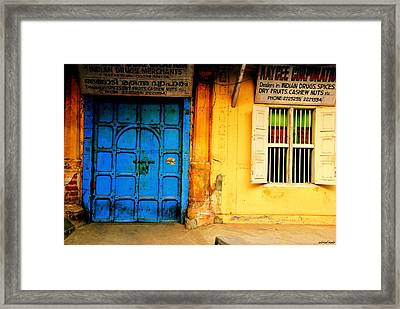 Past Office Hours Framed Print