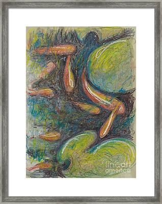 Pastel Fish Framed Print by Michele Hollister - for Nancy Asbell