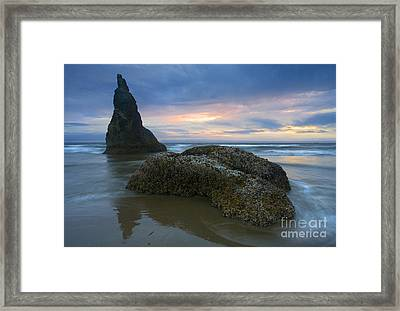 Pastel Illusions Framed Print by Mike  Dawson