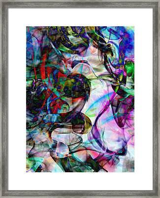 Pastel Smoke Number Two Edit C Framed Print by Nawfal Nur
