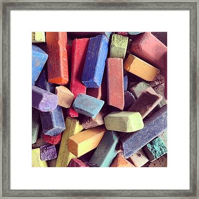 Pastels Framed Print by Nic Squirrell