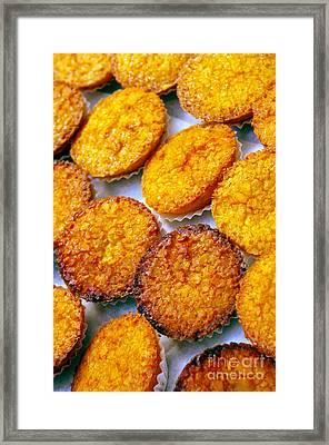 Pastry Cakes Framed Print by Carlos Caetano