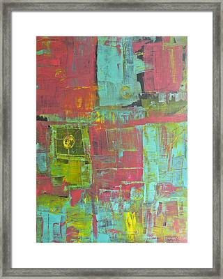 Patching Together Memories Framed Print by Wayne Potrafka