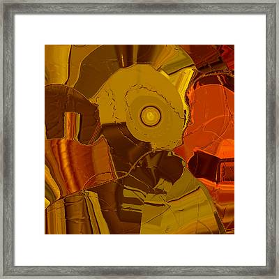 Patchwork No.3 Framed Print by Bonnie Bruno