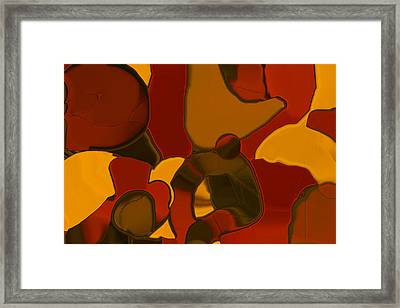 Patchwork No.4 Framed Print by Bonnie Bruno