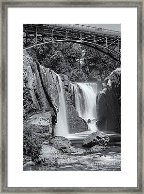 Paterson Great Falls II Framed Print by Clarence Holmes