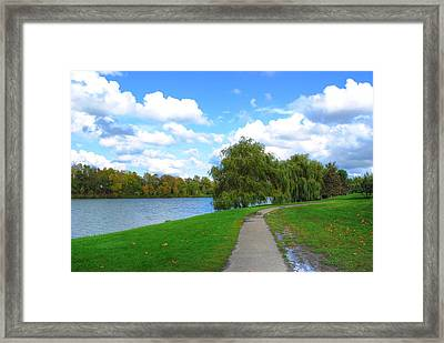 Framed Print featuring the photograph Path by Michael Frank Jr