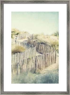 Path Through Dunes Framed Print by Paul Grand Image
