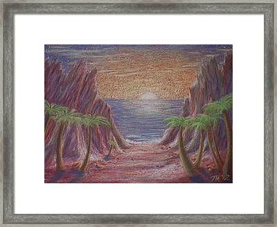 Path To Freedom Framed Print by Thomas Maynard