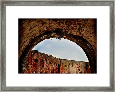Path To History Framed Print by Vanessa Benson