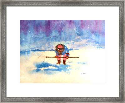 Patience Framed Print by Alethea M