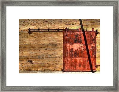 Patient Door Framed Print by David Morefield