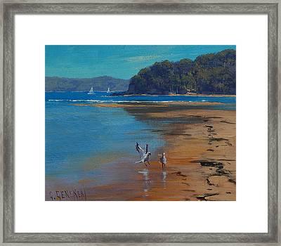 Patonga Beach Australia Framed Print