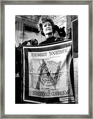 Patricia Nixon, Wife Of President-elect Framed Print by Everett