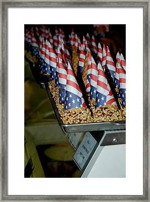 Patriotic Treats Virginia City Nevada Framed Print by LeeAnn McLaneGoetz McLaneGoetzStudioLLCcom