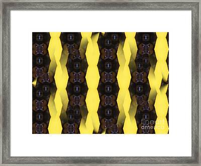 Pattern 3 Framed Print