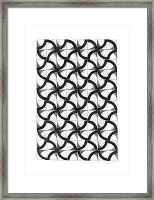 Patterns Framed Print by Gabriela Insuratelu