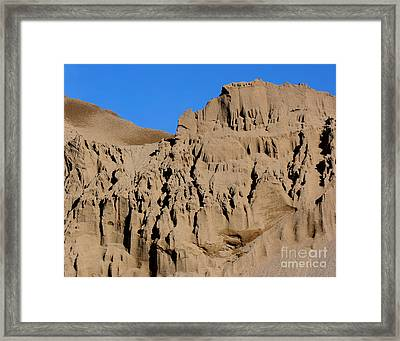Patterns In The Sand No. 1 Framed Print by Smilin Eyes  Treasures