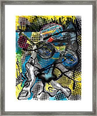 Patterns  Framed Print by Jon Baldwin  Art
