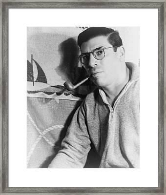 Paul Gallico 1987-1976, American Framed Print by Everett
