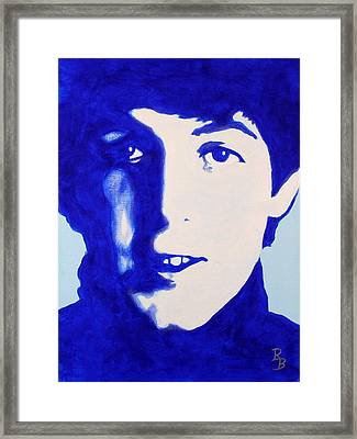 Paul Mccartney - The Beatles Framed Print