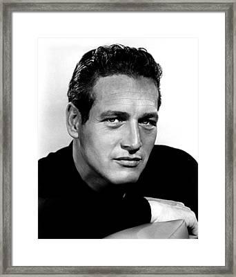 Paul Newman, 1963 Framed Print