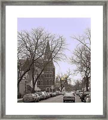 Paulina Street Framed Print