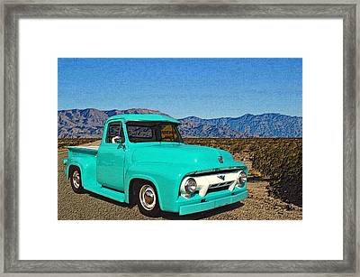 Pavement Ends Framed Print by Tim McCullough