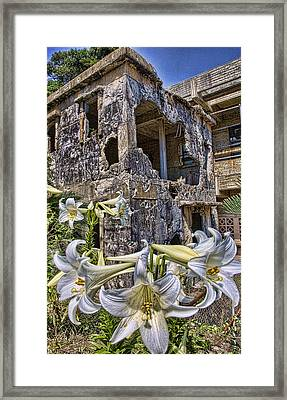 Pawn Shop Framed Print by Karen Walzer