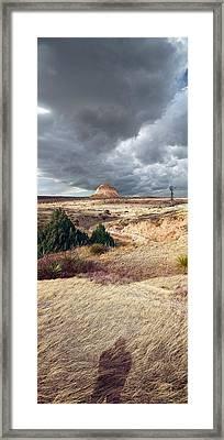 Pawnee Grasslands Framed Print by Ric Soulen